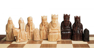 Isle of Lewis Chessmen Replicas
